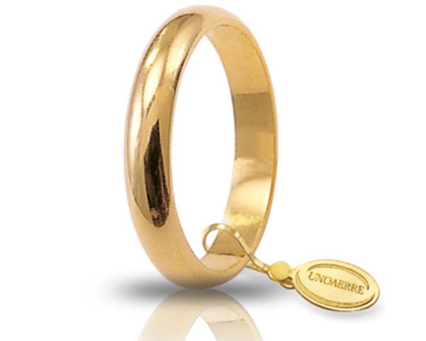 Fede Classica 3.5 mm in oro giallo